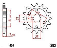 KR Ritzel 15Z Teilung 520 HONDA NSR 250 R 86-96 New... front sprocket