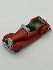 DINKY TOY 36F BRITISH SALMSON FOUR SEATER SPORTS CAR WITH DRIVER