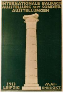 Original vintage poster ARCHITECTURE & BUILDING EXPO 1913