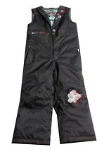 Burton Dryride One Piece Snowsuit Black Snow Kids Size 6 New NWOT