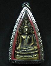Buddha Shinnaraj Indo-China Model Figure Bronze Statue Thai Sculpture Amulet