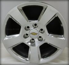 New Set of 4 Polished 20 in Chevy Silverado Z71 Tahoe LTZ  Suburban Wheels Rims