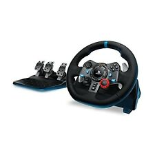 Logitech G29 Driving Force Racing Steering Wheel for for PS4/PS3/PC New