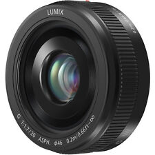 Panasonic LUMIX G 20mm f/1.7 II ASPH. Lens (BLACK) Brand New!!!