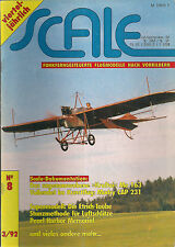 SCALE - Flugmodelle nach Vorbildern - Nr. 8  1992
