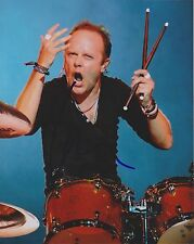 LARS ULRICH Metallica Drummer Signed 8x10 Glossy Photo