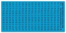 1/72 Calcomanía para DEUTCHE Número de torre en Negro 713