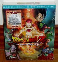 DRAGON BALL Z-LA RESURRECCION DE ´F´-EDIC. COLECCIONISTA BR+2 DVD+LIBRO-NUEVO