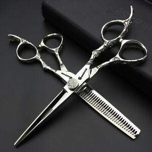 """Hairdressing Scissors 6"""" 7"""" Thinning Cutting Barber Professional Shears Japan SS"""