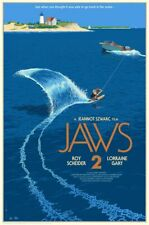 Jaws 2 by Laurent Durieux 24x36 x/425 Movie Screen Print Poster Art Mondo Mint