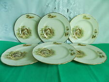 Alfred Meakin Country Farm Cottage The Rest 6 x Dinner Plates