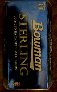 2006-2007 Bowman sterling Basketball  sealed pack