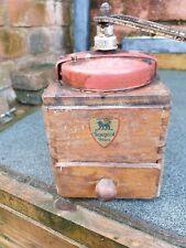 Vintage French coffee grinder Peugeot Freres
