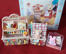 Sylvanian Families HANDICRAFT SHOP Epoch Japan MI-10 Vintage Calico Critters