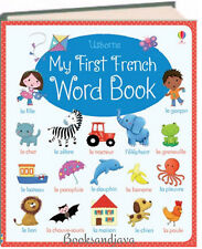 Usborne My First French Word Book (bb) by Felicity Brooks and Hannah Wood NEW