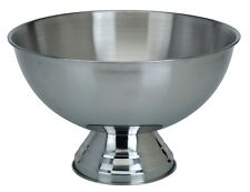 Plain Stainless Steel Party Punch Bowl Champagne Wine Beer Cool Ice Bucket Bowl