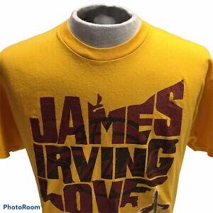 NBA Cavs James,Irving,Love Size Large Short Sleeve Shirt