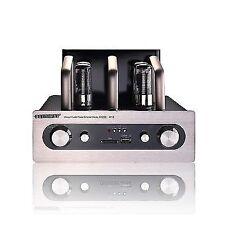 80w Bluetooth HIFI Valve Tube Amplifier Stereo Desktop Amp With USB SD Card Play