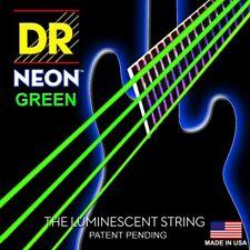 DR Bass Strings Neon Green UV Glow Long Life Coated NGB-45 45-105 Medium