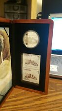 CANADA 2005 Atlantic Walrus & Calf $5 Silver Proof Coin & Stamp Set. Low mintage