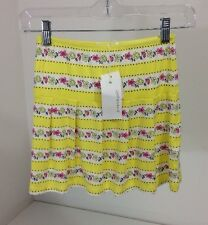 PUMPKIN PATCH YOUTH GIRLS PRINTED KNIT SKIRT SUN GLOW SZ 6 NWT $30