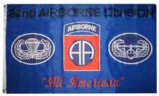 3x5 Army Blue 82nd Airborne Division All American Premium Flag 3'x5' Banner