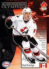 1997-98 Esso Olympic Hockey Heroes French #9 Paul Kariya