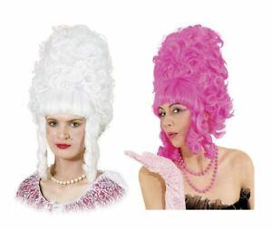 Lady Pompadour Wig 1920s & 1930s Wigs Beehive Fancy Dress Charleston Accessory
