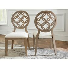 Hillsdale Sanona Dining Chair, Set of 2, Vintage Gray, Putty Fabric - 5851-804