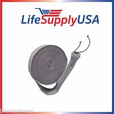 50 FT BEAM CENTRAL 50FT VACUUM HOSE COVER SOCK VACSOCK W APPLICATION TUBE