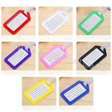 10X Travel  Baggage  Luggage Bag Tag Name Address ID Label Suitcase Checked ca