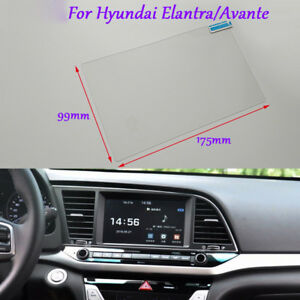8 inch Car GPS Navigation Screen Glass Protective Film For Hyundai Elantra