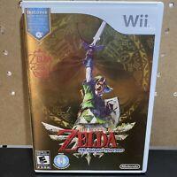The Legend of Zelda: Skyward Sword (Nintendo Wii, 2011) w/ Music CD Complete CIB