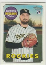 2018 Topps Heritage High Number Harrison Musgrave #594 Rockies
