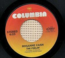 ROSANNE CASH - Ain't No Money / The Feelin' (Columbia 1982) Stereo 45-RPM