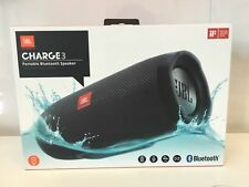JBL CHARGE3BLK Charge 3 Waterproof Portable Bluetooth Speaker