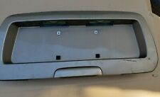 2002-2009 Chevy TrailBlazer GMC Envoy License Plate Rear Trunk Hatch Bezel Gold