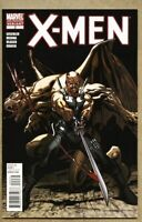 X-Men #2-2010 vf 8.0 2nd Variant Cover low print run Marvel Paco Medina