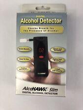 AlcoHawk Digital Breath Alcohol Tester, Detector /  Slim