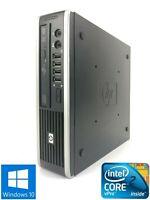 HP  8000 Elite USDT - 160GB HDD Intel Core 2 Duo E8400, 4GB RAM - Win 10 Pro