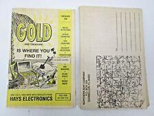 1996 Hays Electronics Catalog Metal Detectors Treasure Hunting Northern Map Co.