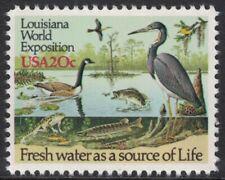 Scott 2086- Louisiana World Expo, Bayou Wildlife- 20c MNH 1984- unused mint