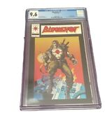 Bloodshot 1 #1 Valiant Comics 1993 CGC 9.6 NM+ White Pages, Vin Diesel movie