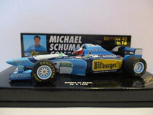 BENETTON RENAULT B195, #1, Michael Schumacher, 1995 Winner GP Brazil!!!