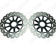 Front Brake Disc Rotors For Honda CBR600 F3 95-98 CBR 900RR 94-97 VFR750F Black