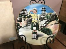 "Danbury Mint "" Wee Willie Winkie "" Shirley Temple Plate with Coa"