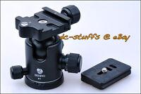 Benro B1 Kamera Kugelkopf & Schnellwechselplatte Combo passen Stativ Arca Swiss