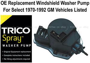 Windshield / Wiper Washer Fluid Pump (a) - Trico Spray 11-515