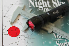 Night Vision Red Filter- 31.7mm- Thin- for UltraFire CREE XM-L T6 LED Flashlight