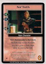 Babylon 5 CCG Promo Na'Toth EX